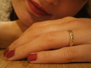 tak to vše začalo to je můj zásnubní prstýnek