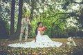 svadobne saty s cervenou viazackou velkost 36-38 , 36