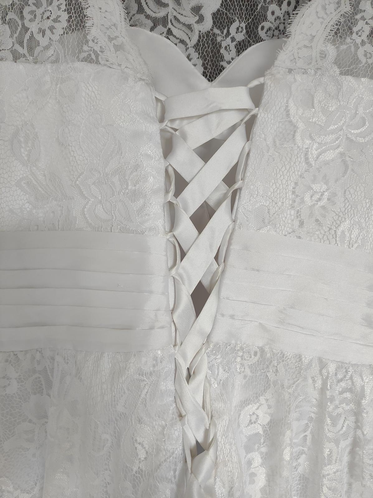Svatební šaty krátké - Obrázek č. 4