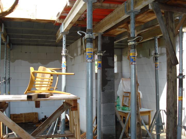 Domcek :) APS K01 - Jun 2012 - zalievanie plotne - Plotna je montovana PREMAC