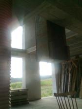 September 2012 - Skladanie vytahu z poschodia a zaroven pohlad na nasu GALERIU :)