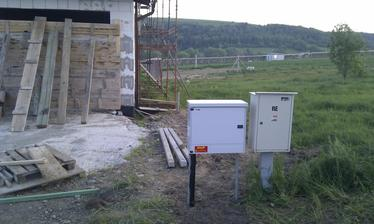 Maj 2013 - plynova pripojka hotova :)