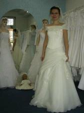 Moje svatební šatky.