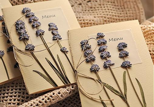 Rozkvitnutá jarná lúka:) - Svadobné menu