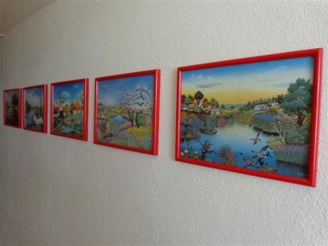 Rámiky na foto 5ks + obrázky 21 ks - Obrázok č. 1