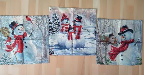 Zimné dekoračné obliečky na vankúše 3ks  - Obrázok č. 1