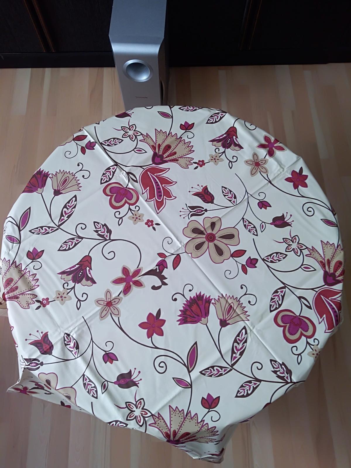 Okrúhly obrus z PVC priemer 150 cm - Obrázok č. 1