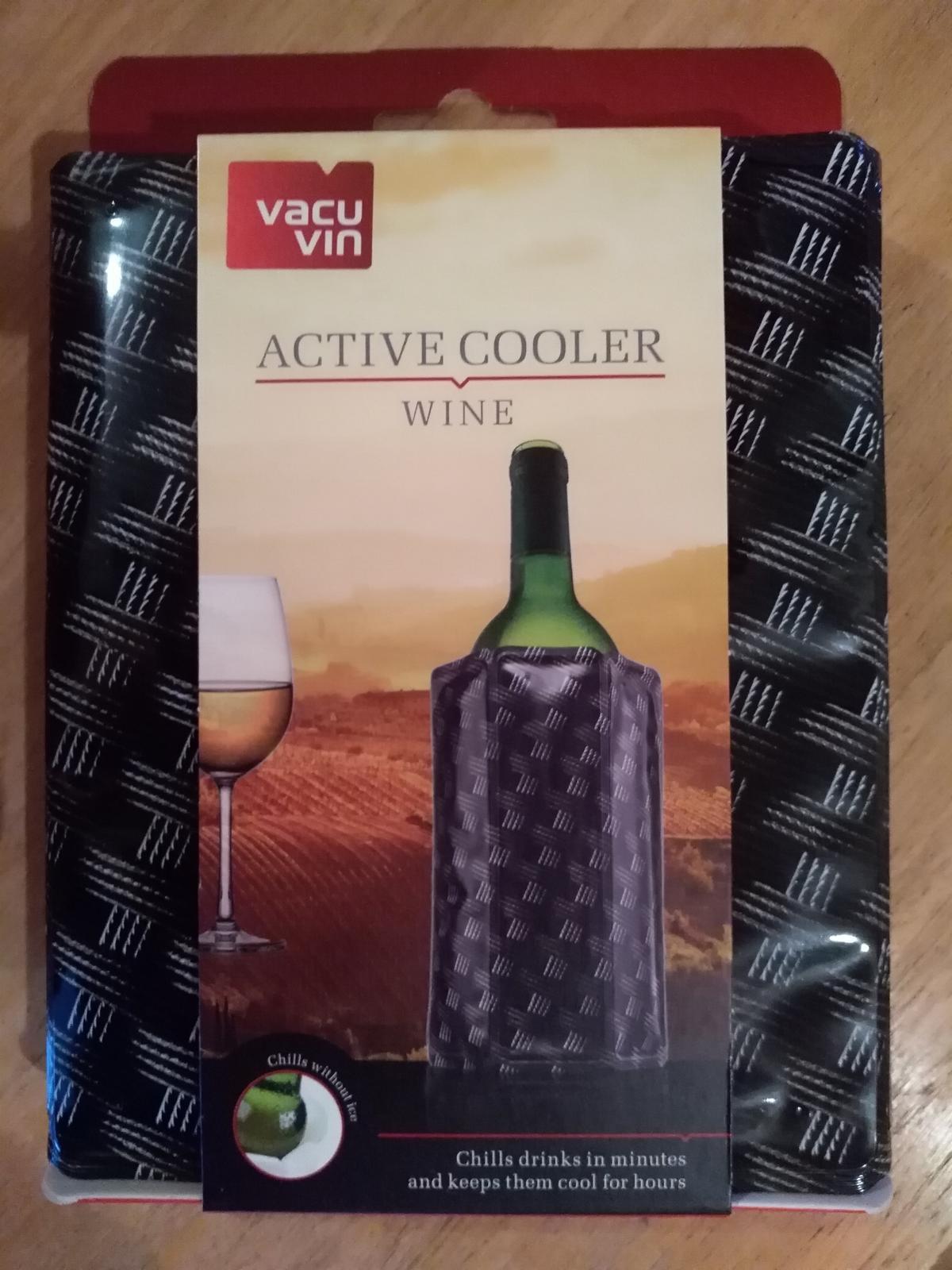 Chladiace puzdro na víno - Obrázok č. 1