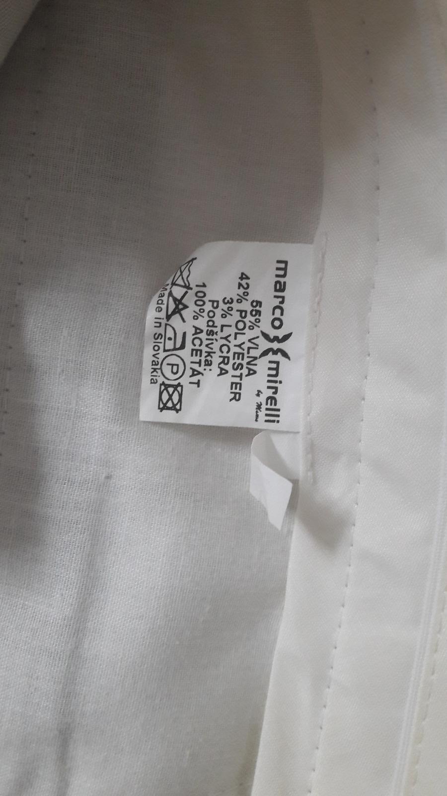 Oblek svadobný marco.mirelli - Obrázok č. 3