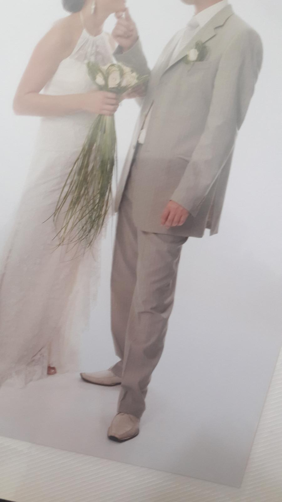 Oblek svadobný marco.mirelli - Obrázok č. 4