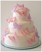 tato torta bude hlavna... Akurat motye budu bielozlate a stuha zlata