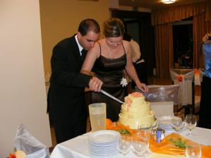 a krájame tortu