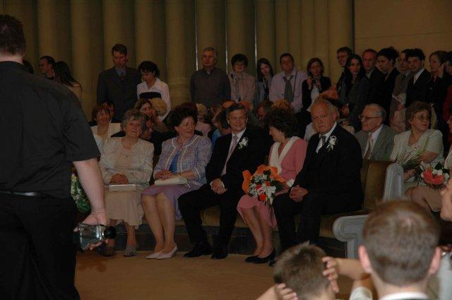 Baša{{_AND_}}Peťko - nasi rodicia... vpravo moji, vlavo draheho aj s babkou