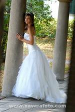 tyhle svatební šaty taky nejsou špatný