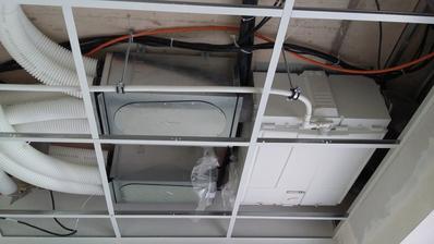 konštrukcia na znížený strop