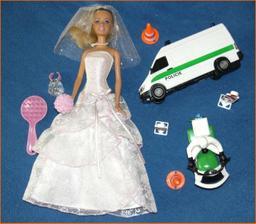 Něco na hraní pro malé svatebčany