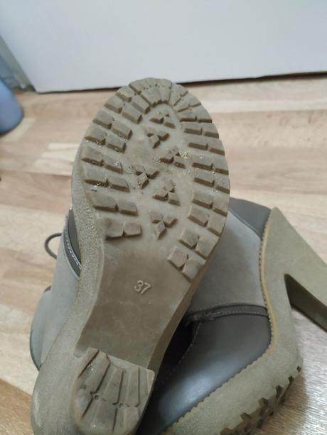 🎀 Teplé boty s kožíškem na podpatku 🎀 - Obrázek č. 3