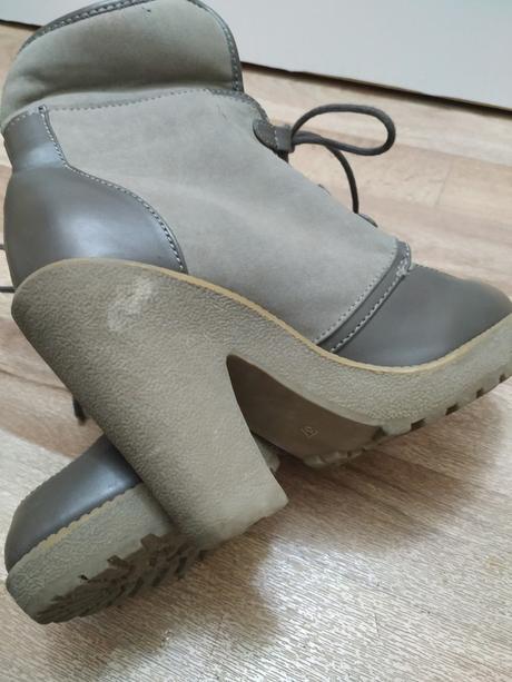 🎀 Teplé boty s kožíškem na podpatku 🎀 - Obrázek č. 4