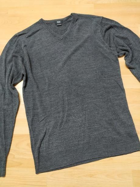 🎀 F&F šedý společenský svetr 🎀 - Obrázek č. 1