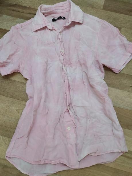 🎀 Růžovo bílá košile 🎀 - Obrázek č. 1