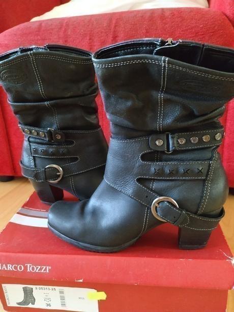 🎀 Luxusní boty Marco Tozzi 🎀 - Obrázek č. 1