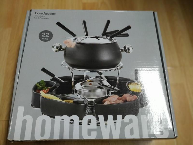 Luxusní sada na fondue Homeware - Obrázek č. 1