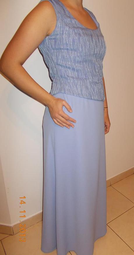 Spoločenské šaty korzet+sukňa+štóla - Obrázok č. 1