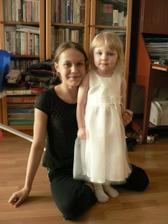 moje dve druzicky, neterky, najmladsia v satach odo mna