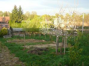 nové terasy v záhradke