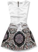 biele saty s tmavou suknou, M