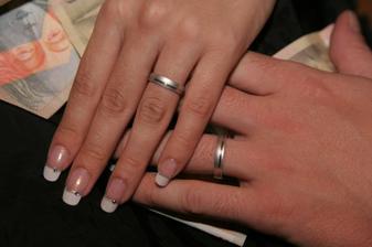 A naše prstienky
