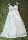 Lehké svatební šaty Grace Karin, 36