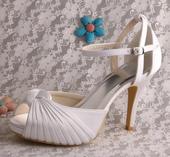 Sandále pre nevestu už s poštovným, nenosené, 40