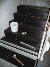 obkladanie schodiska