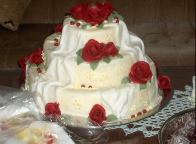Detaily z nasej svadby - Torta