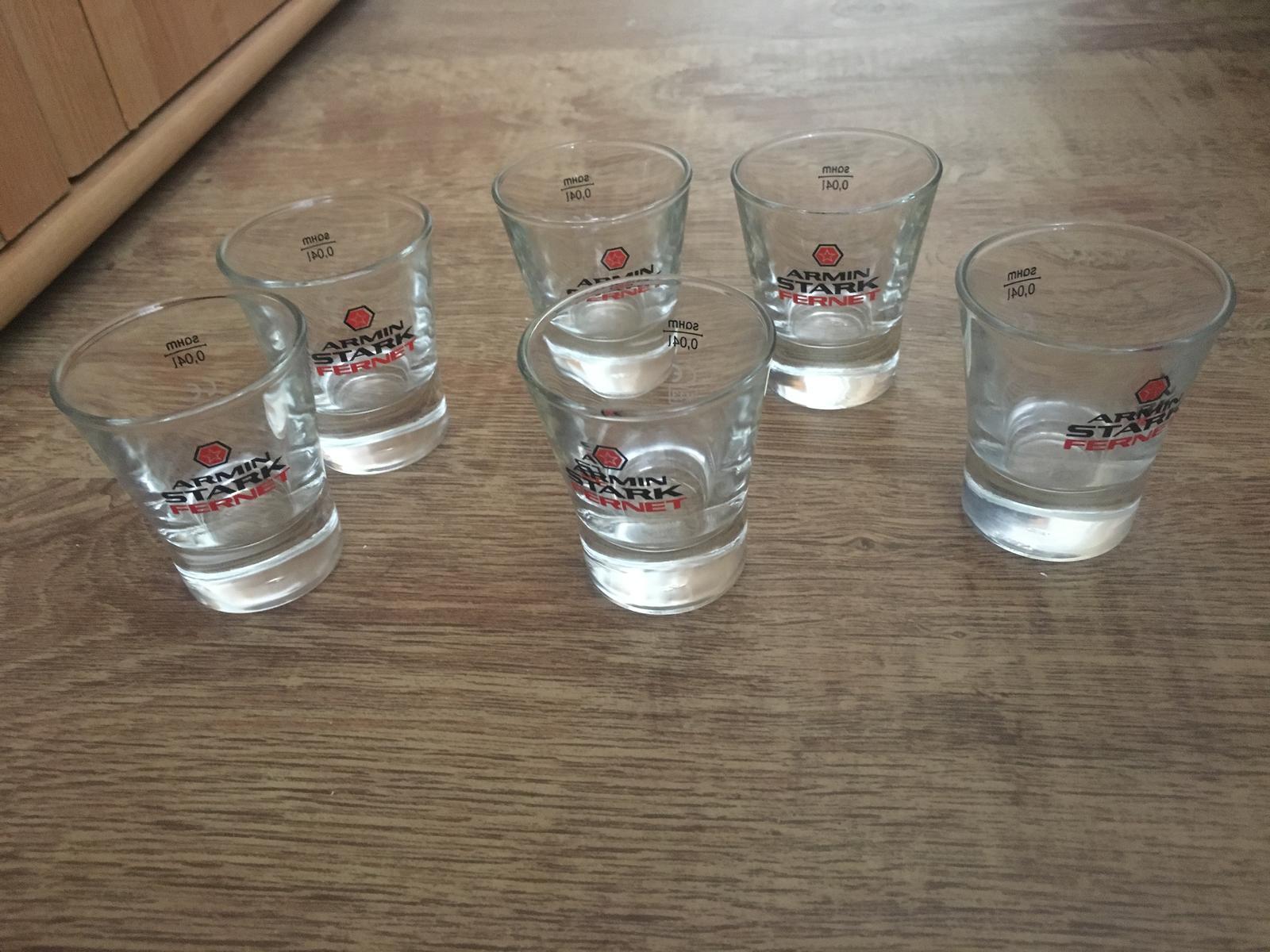 poháre na alkohol - Obrázok č. 1