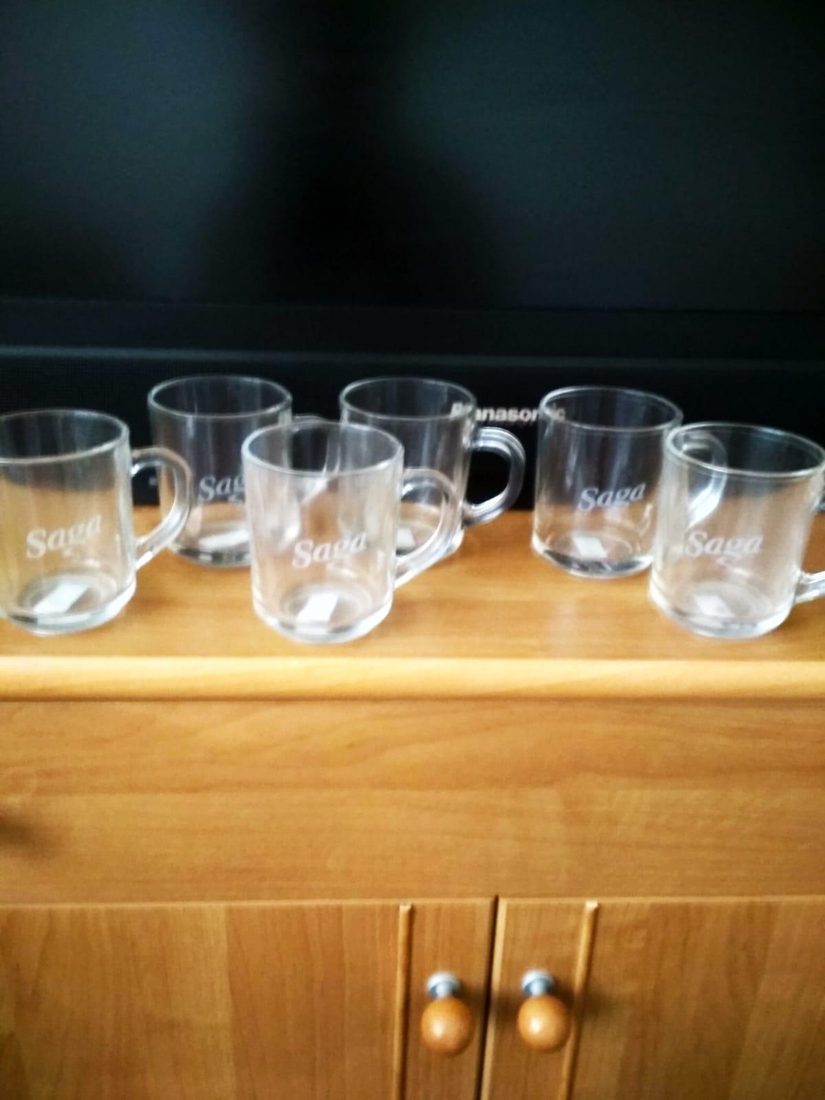 sklenené šálky na čaj - Obrázok č. 1