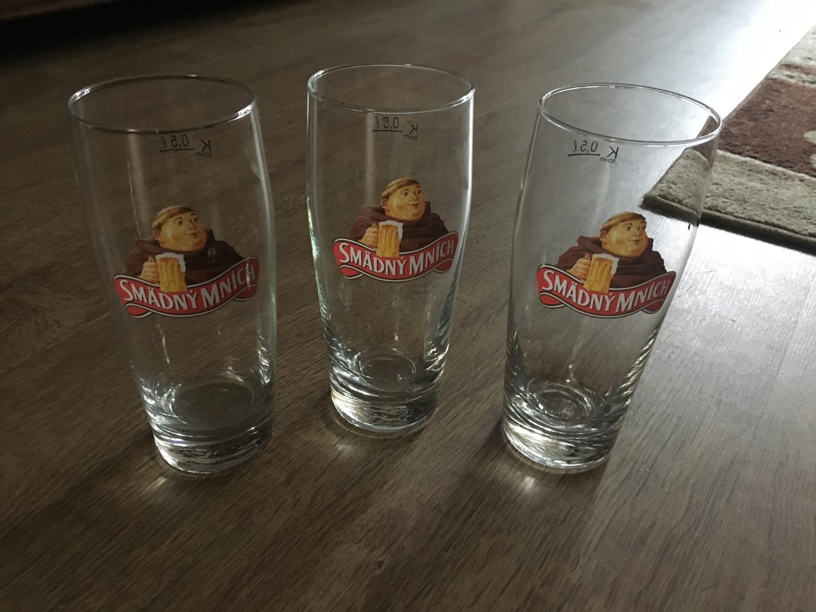 Poháre na pivo smädný mnich - Obrázok č. 1