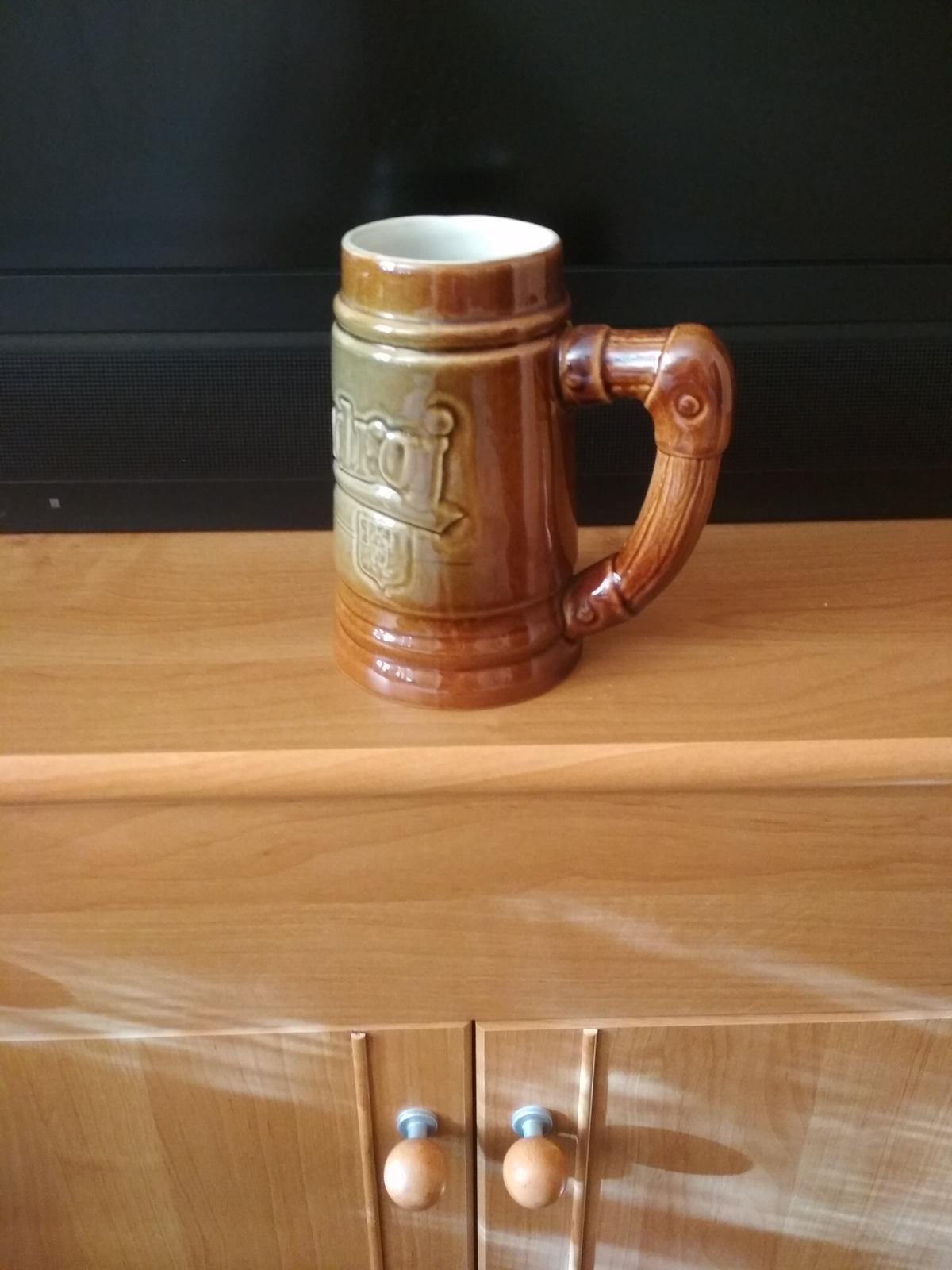 keramický džbán na pivo - Obrázok č. 1