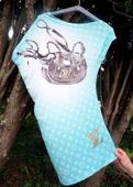 Letné šaty na jedno plece zn. T.A.T.U, S