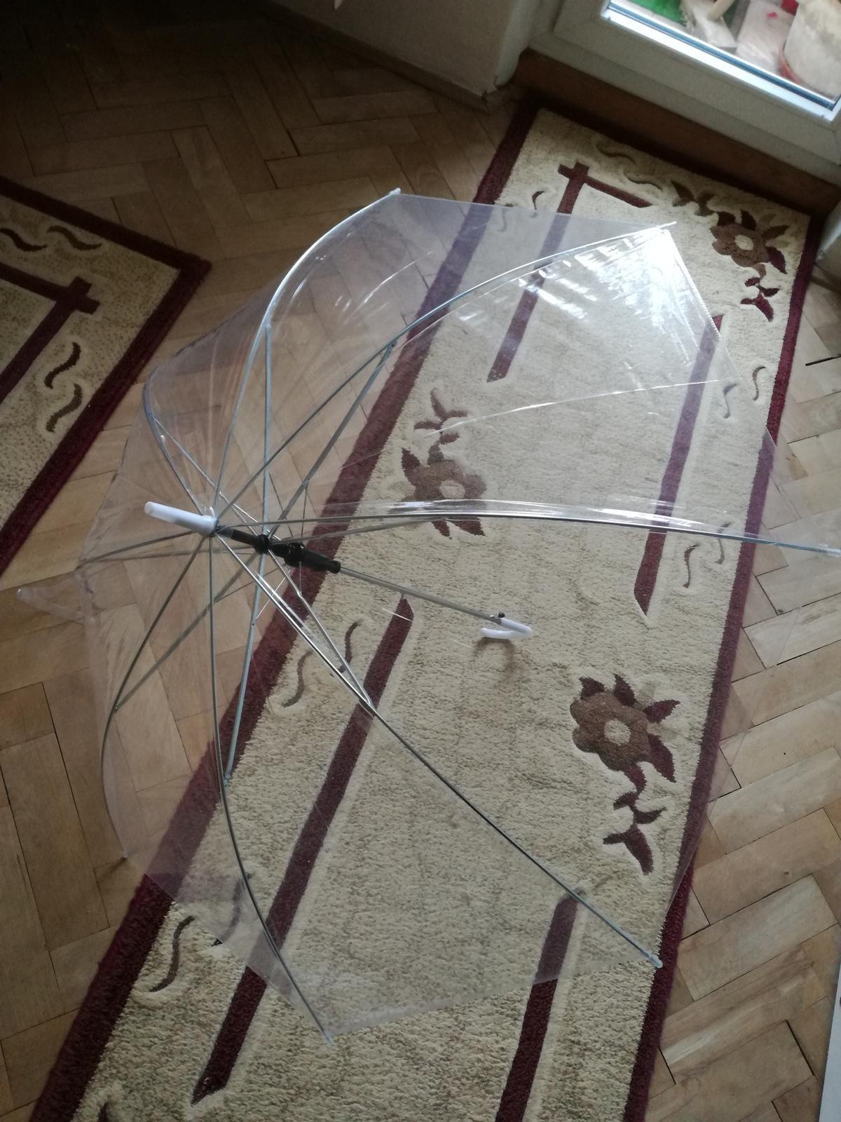 Deštníky průhledné - Obrázek č. 1