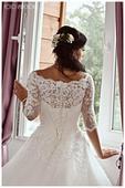 Svatební šaty zn. Eva Utkina, vel. 36, 36