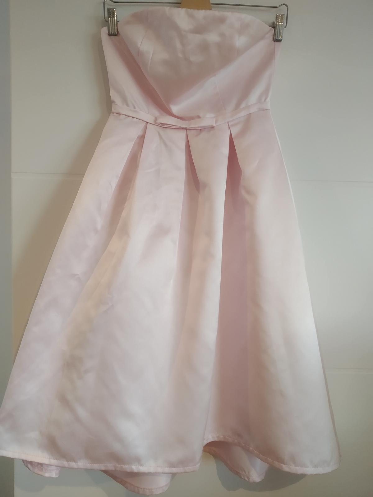Saténové šaty zn. True Decadence XS-S - Obrázok č. 3
