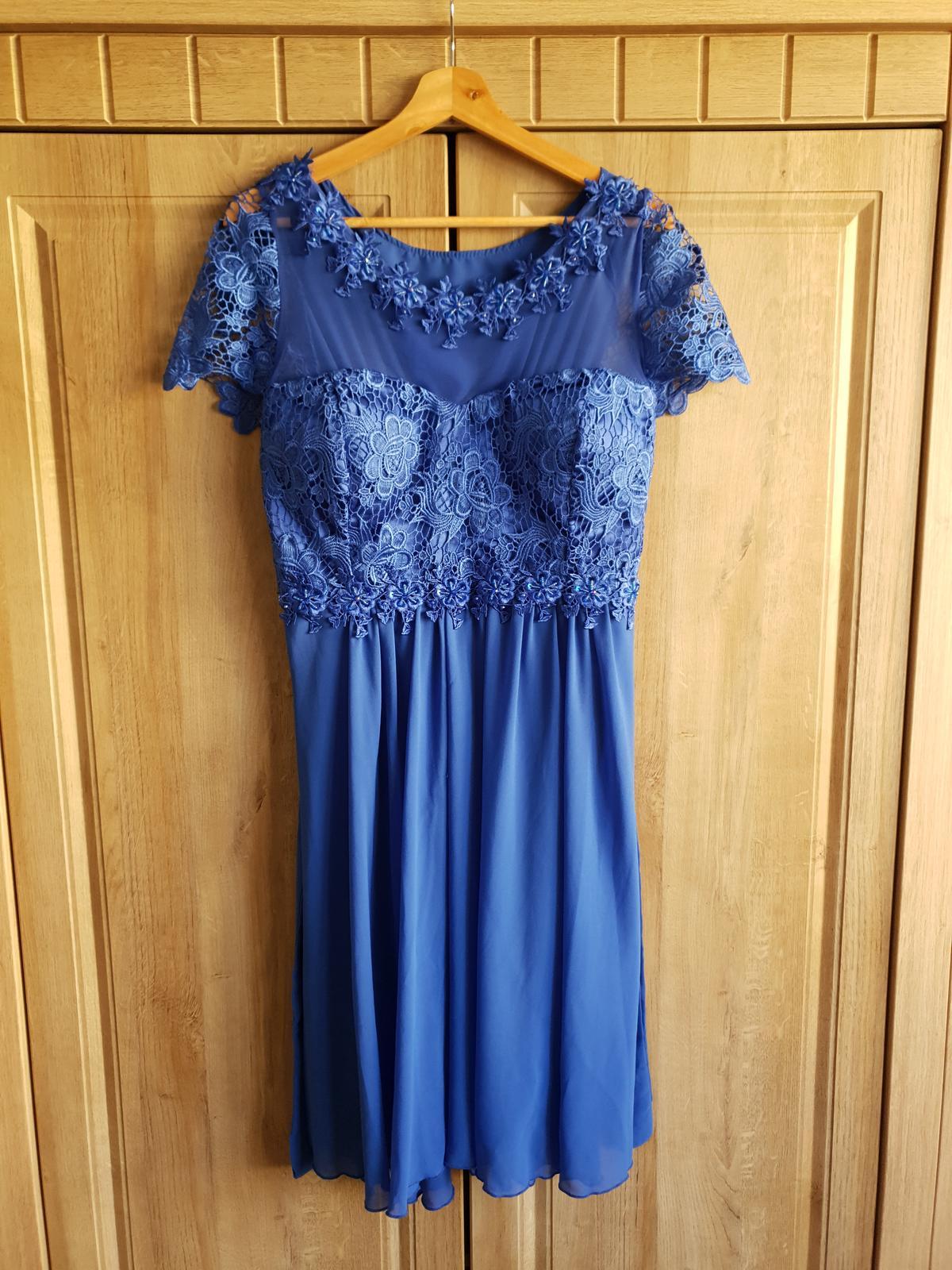 Šaty - kráľovská modrá - Obrázok č. 1