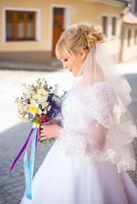 Svatební kytice z květinové farmy Řezanka