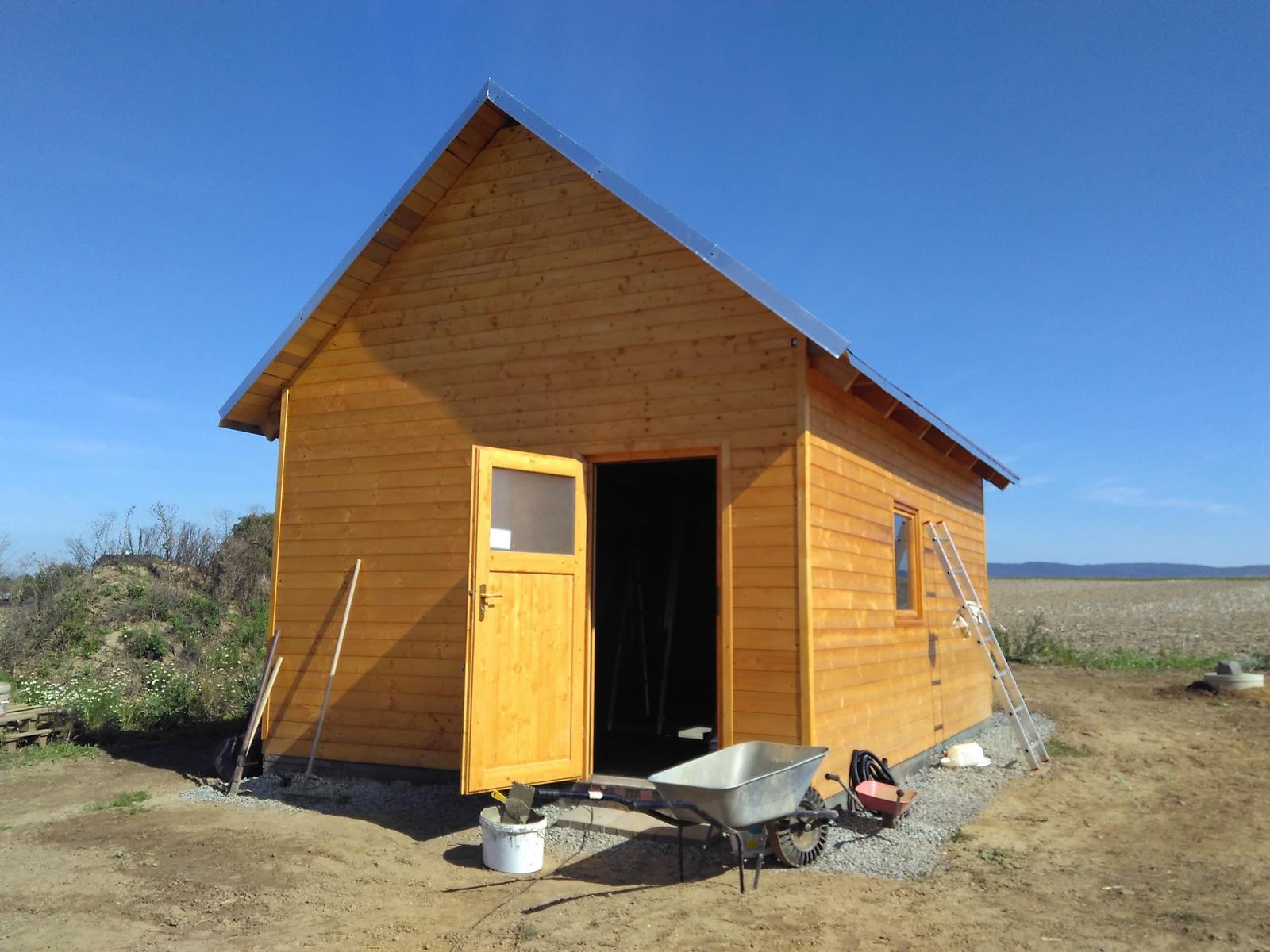 Zahradní domek - Obrázek č. 1