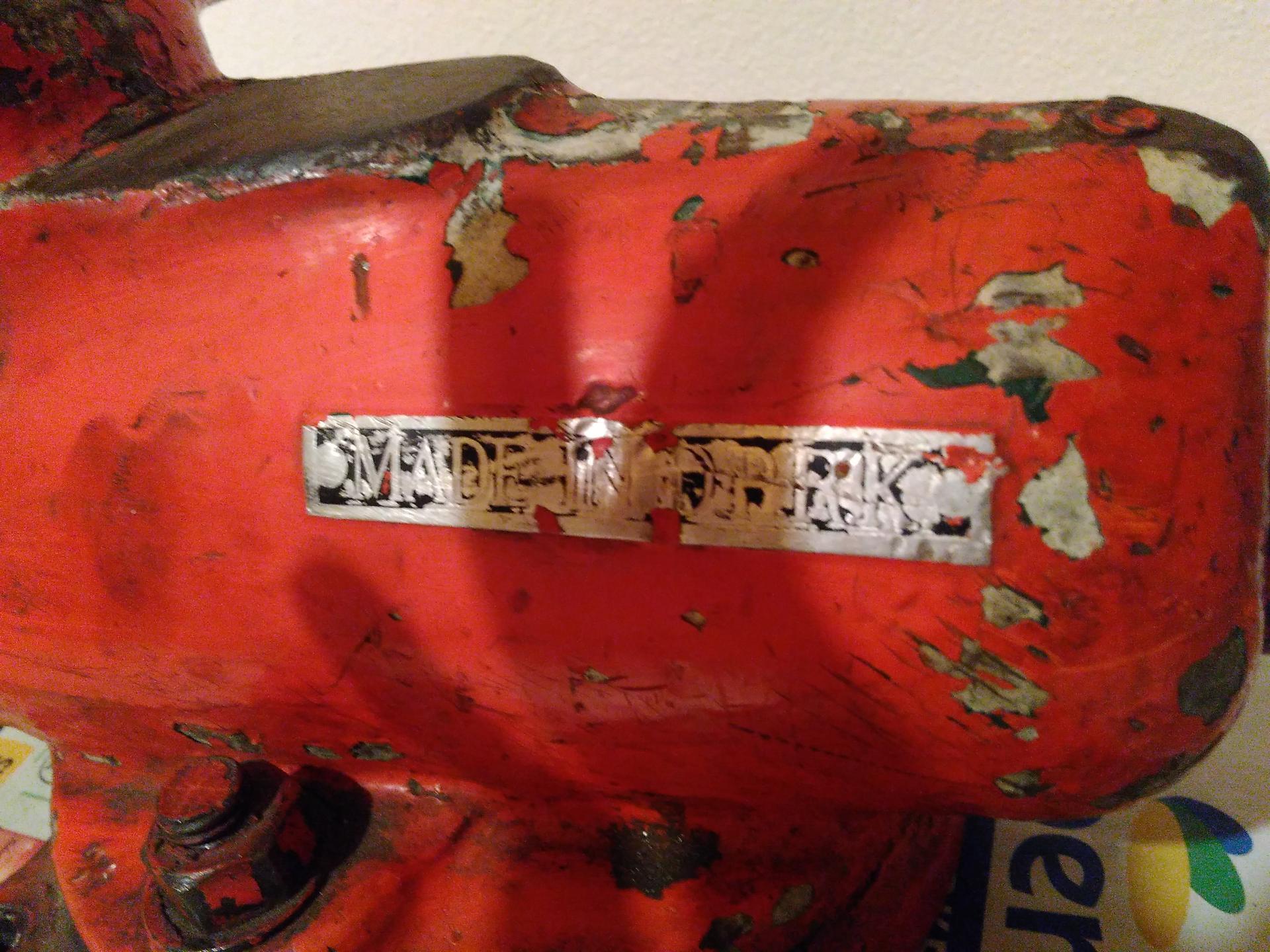 Renovace svěráku Made in D.P.R.K. - Obrázek č. 1