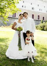 s mojou láskou a naším krsniatkom Vikinkou
