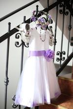 šaty male princezny
