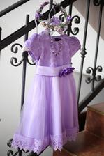 Druhe šaty male princezny